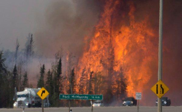 Alberta Wildfire 20160506